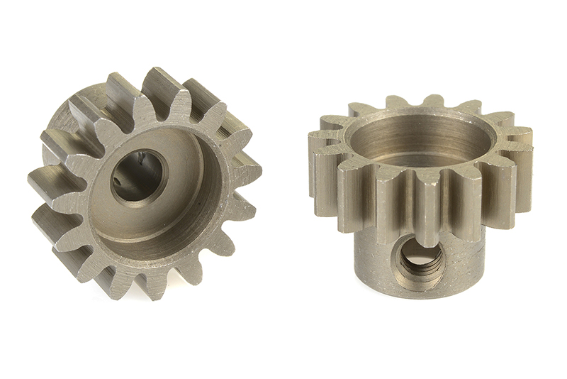 Team Corally - C-71515 - 32 DP Pinion - Short - Hardened Steel - 15 Teeth - Shaft Dia. 3.17mm
