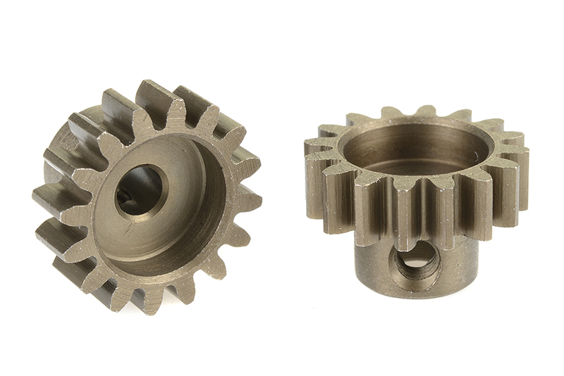 Team Corally - C-71516 - 32 DP Pinion - Short - Hardened Steel - 16 Teeth - Shaft Dia. 3.17mm
