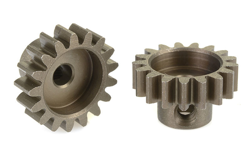 Team Corally - C-71517 - 32 DP Pinion - Short - Hardened Steel - 17 Teeth - Shaft Dia. 3.17mm