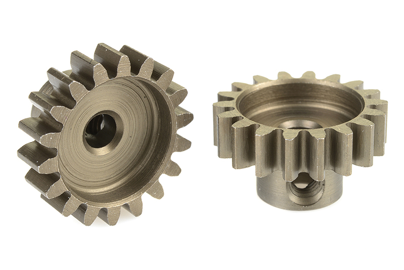 Team Corally - C-71518 - 32 DP Pinion - Short - Hardened Steel - 18 Teeth - Shaft Dia. 3.17mm