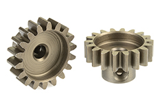 Team Corally - C-71518 - 32 DP Pinion - Short - Hardened Steel - 18 Teeth - Shaft Dia. 3.17mm