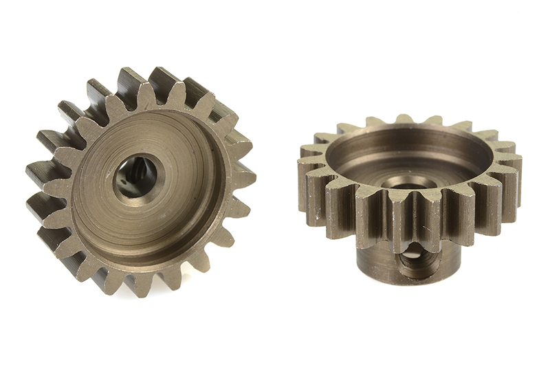 Team Corally - C-71519 - 32 DP Pinion - Short - Hardened Steel - 19 Teeth - Shaft Dia. 3.17mm