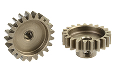 Team Corally - C-71521 - 32 DP Pinion - Short - Hardened Steel - 21 Teeth - Shaft Dia. 3.17mm