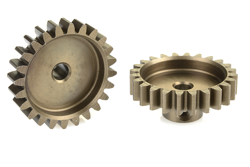 Team Corally - C-71524 - 32 DP Pinion - Short - Hardened Steel - 24 Teeth - Shaft Dia. 3.17mm