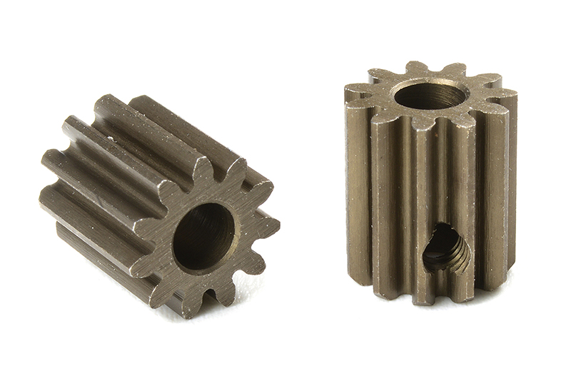 Team Corally - C-71611 - M0.6 Pinion - Short - Hardened Steel - 11 Teeth - Shaft Dia. 3.17mm