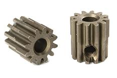 Team Corally - C-71612 - M0.6 Pinion - Short - Hardened Steel - 12 Teeth - Shaft Dia. 3.17mm
