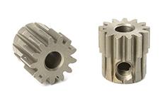 Team Corally - C-71613 - M0.6 Pinion - Short - Hardened Steel - 13 Teeth - Shaft Dia. 3.17mm