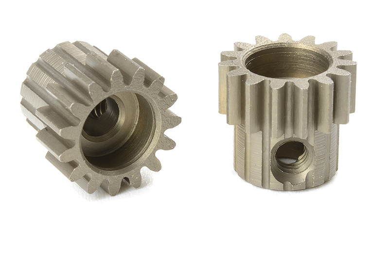 Team Corally - C-71615 - M0.6 Pinion - Short - Hardened Steel - 15 Teeth - Shaft Dia. 3.17mm