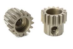 Team Corally - C-71615 - M0.6 Pinion - Short - Hardened Steel - 15 Teeth - Shaft Dia. 3.17mm