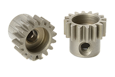 Team Corally - C-71616 - M0.6 Pinion - Short - Hardened Steel - 16 Teeth - Shaft Dia. 3.17mm