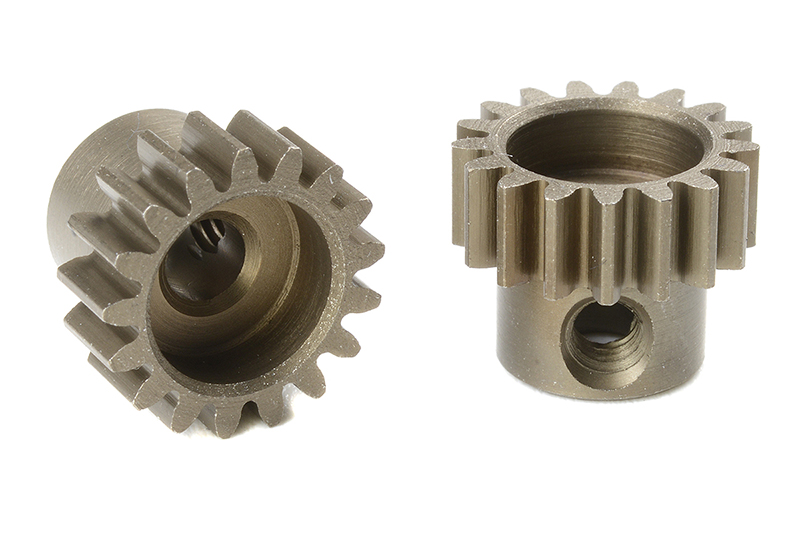 Team Corally - C-71617 - M0.6 Pinion - Short - Hardened Steel - 17 Teeth - Shaft Dia. 3.17mm