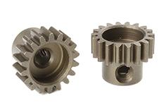 Team Corally - C-71618 - M0.6 Pinion - Short - Hardened Steel - 18 Teeth - Shaft Dia. 3.17mm