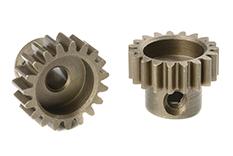 Team Corally - C-71619 - M0.6 Pinion - Short - Hardened Steel - 19 Teeth - Shaft Dia. 3.17mm