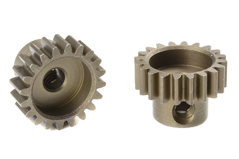 Team Corally - C-71620 - M0.6 Pinion - Short - Hardened Steel - 20 Teeth - Shaft Dia. 3.17mm