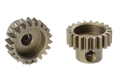 Team Corally - C-71620 - M0.6 Pinion - Short - Hardened Steel - 20 Teeth - Shaft Dia. 3.17mm