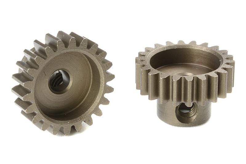 Team Corally - C-71622 - M0.6 Pinion - Short - Hardened Steel - 22 Teeth - Shaft Dia. 3.17mm