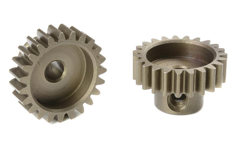 Team Corally - C-71623 - M0.6 Pinion - Short - Hardened Steel - 23 Teeth - Shaft Dia. 3.17mm