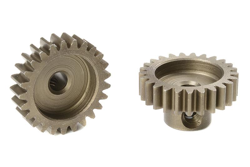 Team Corally - C-71625 - M0.6 Pinion - Short - Hardened Steel - 25 Teeth - Shaft Dia. 3.17mm