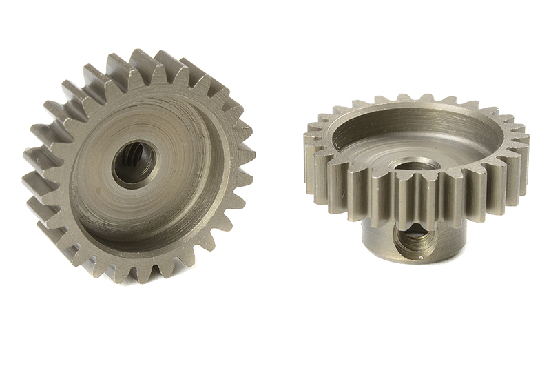 Team Corally - C-71626 - M0.6 Pinion - Short - Hardened Steel - 26 Teeth - Shaft Dia. 3.17mm
