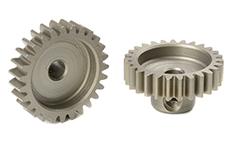 Team Corally - C-71627 - M0.6 Pinion - Short - Hardened Steel - 27 Teeth - Shaft Dia. 3.17mm