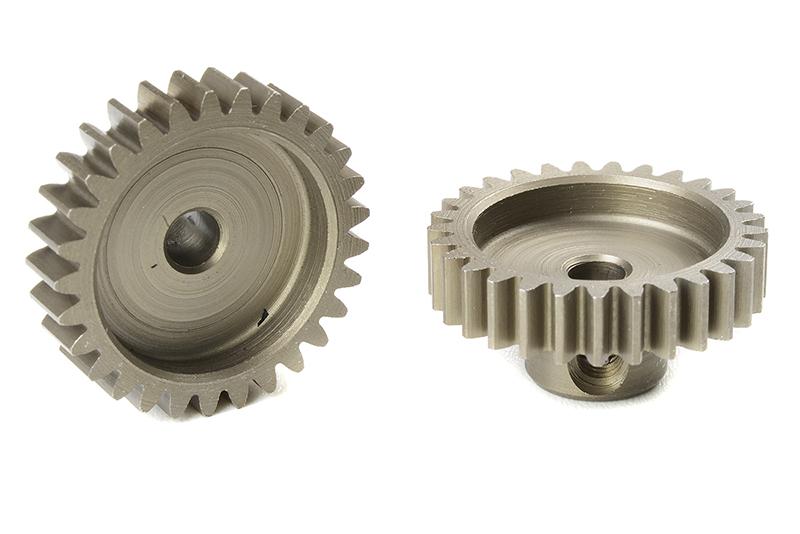 Team Corally - C-71629 - M0.6 Pinion - Short - Hardened Steel - 29 Teeth - Shaft Dia. 3.17mm