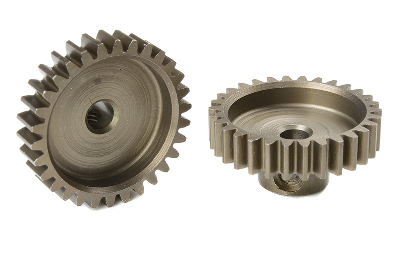 Team Corally - C-71630 - M0.6 Pinion - Short - Hardened Steel - 30 Teeth - Shaft Dia. 3.17mm