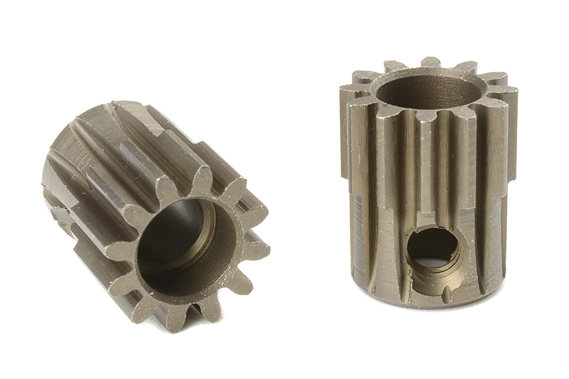Team Corally - C-72512 - 32 DP Pinion - Short - Hardened Steel - 12 Teeth - Shaft Dia. 5mm