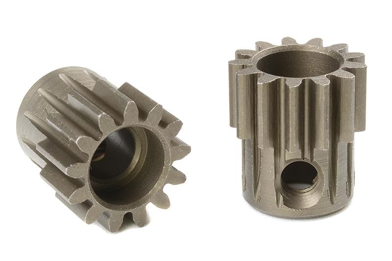 Team Corally - C-72513 - 32 DP Pinion - Short - Hardened Steel - 13 Teeth - Shaft Dia. 5mm