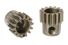 Team Corally - C-72514 - 32 DP Pinion - Short - Hardened Steel - 14 Teeth - Shaft Dia. 5mm