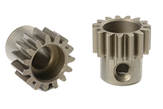 Team Corally - C-72515 - 32 DP Pinion - Short - Hardened Steel - 15 Teeth - Shaft Dia. 5mm