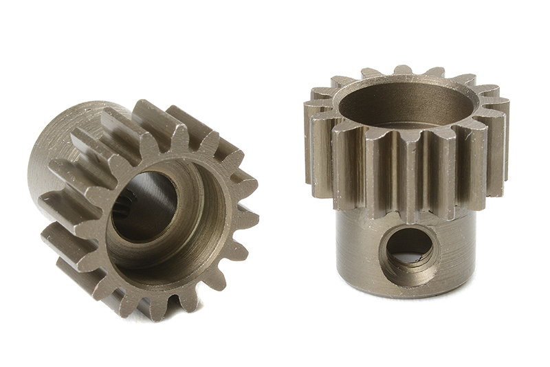 Team Corally - C-72516 - 32 DP Pinion - Short - Hardened Steel - 16 Teeth - Shaft Dia. 5mm