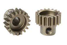 Team Corally - C-72518 - 32 DP Pinion - Short - Hardened Steel - 18 Teeth - Shaft Dia. 5mm