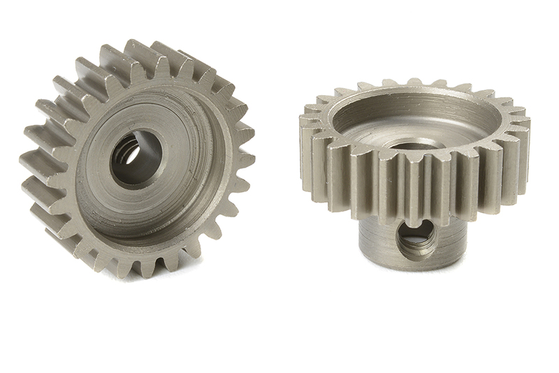 Team Corally - C-72524 - 32 DP Pinion - Short - Hardened Steel - 24 Teeth - Shaft Dia. 5mm