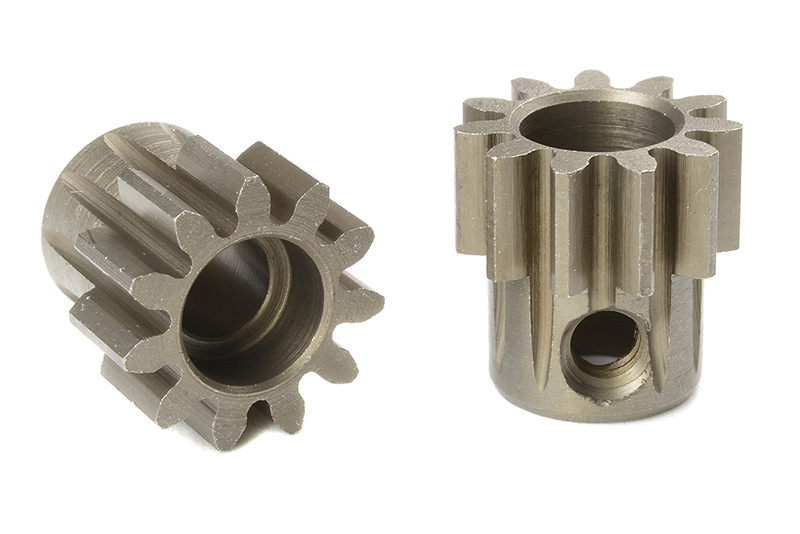 Team Corally - C-72711 - M1.0 Pinion - Short - Hardened Steel - 11 Teeth - Shaft Dia. 5mm
