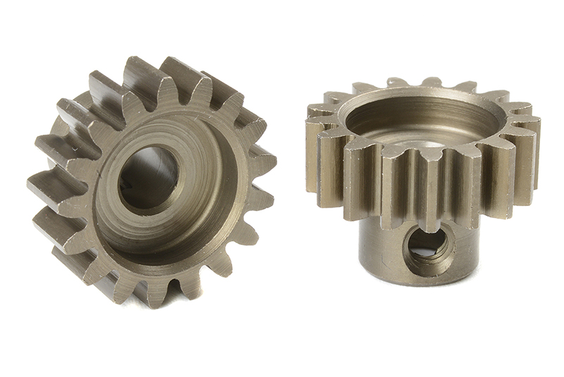 Team Corally - C-72717 - M1.0 Pinion - Short - Hardened Steel - 17 Teeth - Shaft Dia. 5mm