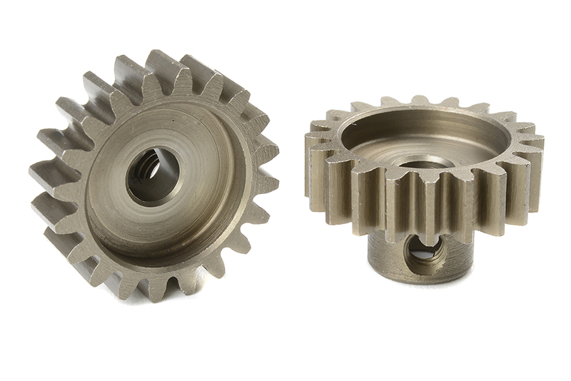 Team Corally - C-72720 - M1.0 Pinion - Short - Hardened Steel - 20 Teeth - Shaft Dia. 5mm