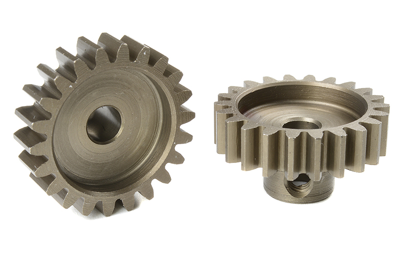 Team Corally - C-72722 - M1.0 Pinion - Short - Hardened Steel - 22 Teeth - Shaft Dia. 5mm