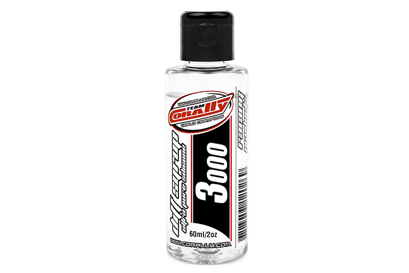 Team Corally - C-81503 - Diff Syrup - Ultra Pure Silicone - 3000 CPS - 60ml / 2oz