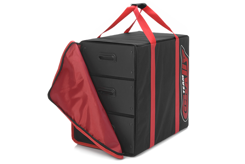 Team Corally - C-90241 - Carrying Bag - 3 Corrugated Plastic Drawers