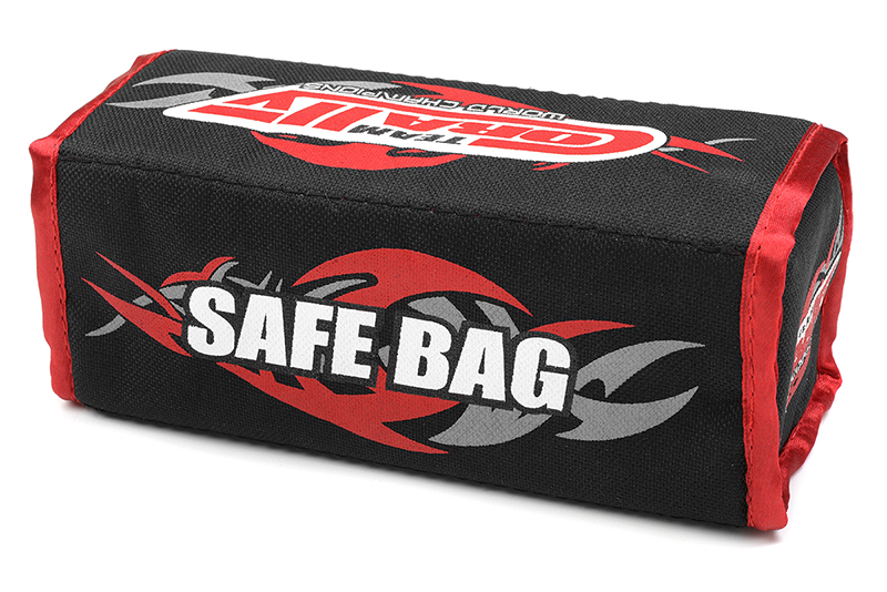 Team Corally - C-90242 - Lipo Safe Bag - for 2 pcs 2S Hard Case Batterypacks