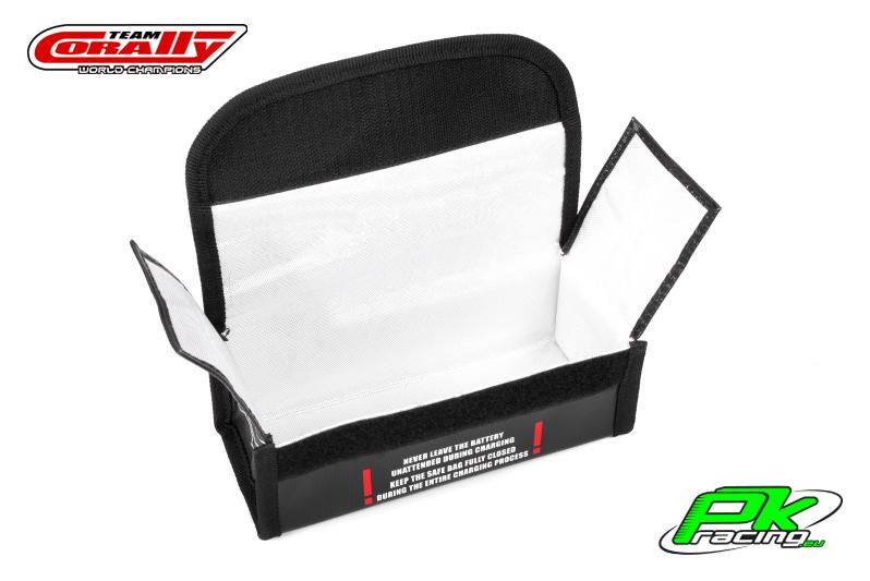 Team Corally - C-90248 - Lipo Safe Bag - Sport - for 2 pcs 2S Hard Case Batterypacks