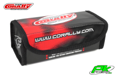 Team Corally - C-90248 - Lipo Safe Bag - Sport - for 2 pcs 2S Hard Case Batterypacks