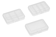 Team Corally - C-90268 - Assortment Box Set 3 Pcs - Small - 91x66x21mm