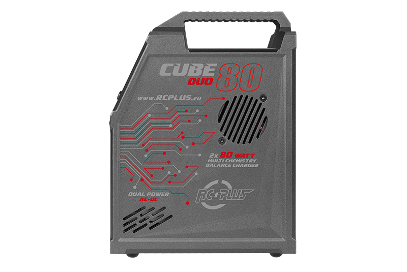RC Plus - RC-CHA-211 - Cube 80 Duo Charger - AC-DC - 2x 80 Watt