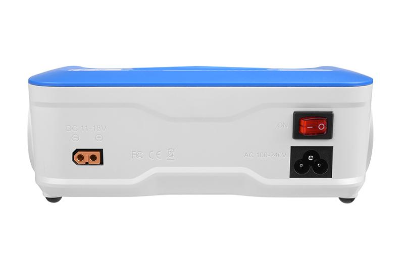 Pulsetec - PC-020-002 - Quad Charger - Excel 200 Quad - Pulse Link App - AC 100-240V - DC 11-18V - 200W Power - 0.1-10.0A - 1-6 Li-xx - 1-15 Ni-xx - 2-20V PB