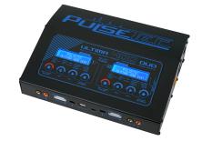 Pulsetec - PC-021-002 - Quad Charger - Ultima 400 Duo - AC 100-240V - DC 11-18V - 400W Power - 0.1-20.0A - 1-7 Li-xx - 1-18 Ni-xx - 2-24V PB