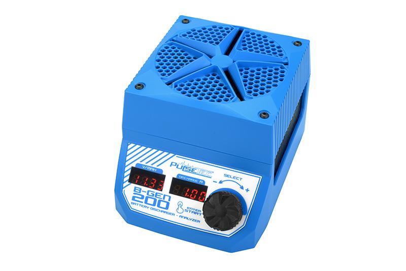 Pulsetec - PC-022-001 - Battery Analyzer-Discharger - B-Gen 200 - 200W Power - 0.1-30.0A - V-Range 5.4-35.0V