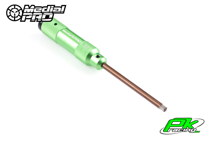 Medial Pro - MPT-01150 - XP Tools - Hardened Tip - Alu Grip - Hex 5.0mm