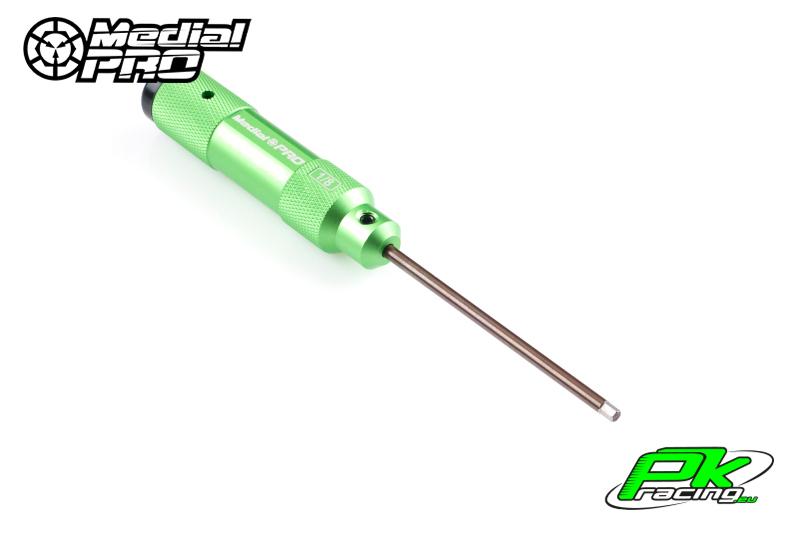 Medial Pro - MPT-021018 - XP Tools - Hardened Tip - Alu Grip - Hex US 1/8