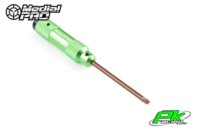 Medial Pro - MPT-04150 - XP Tools - Hardened Tip - Alu Grip - Flat 5.0mm